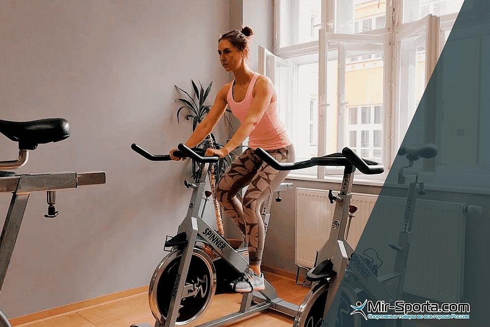 Горизонтальный велотренажер