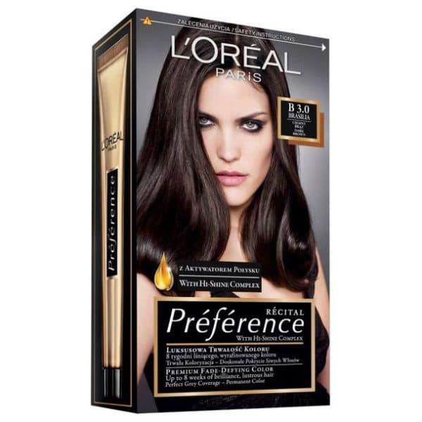Стойкая краска для волос L