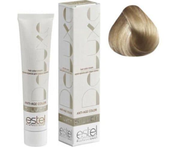 Стойкая профессиональная краска для волос Estel De Luxe Silver