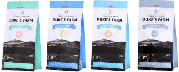 Dukes Farm (Дюкс Фарм) супер премиу корм для собак