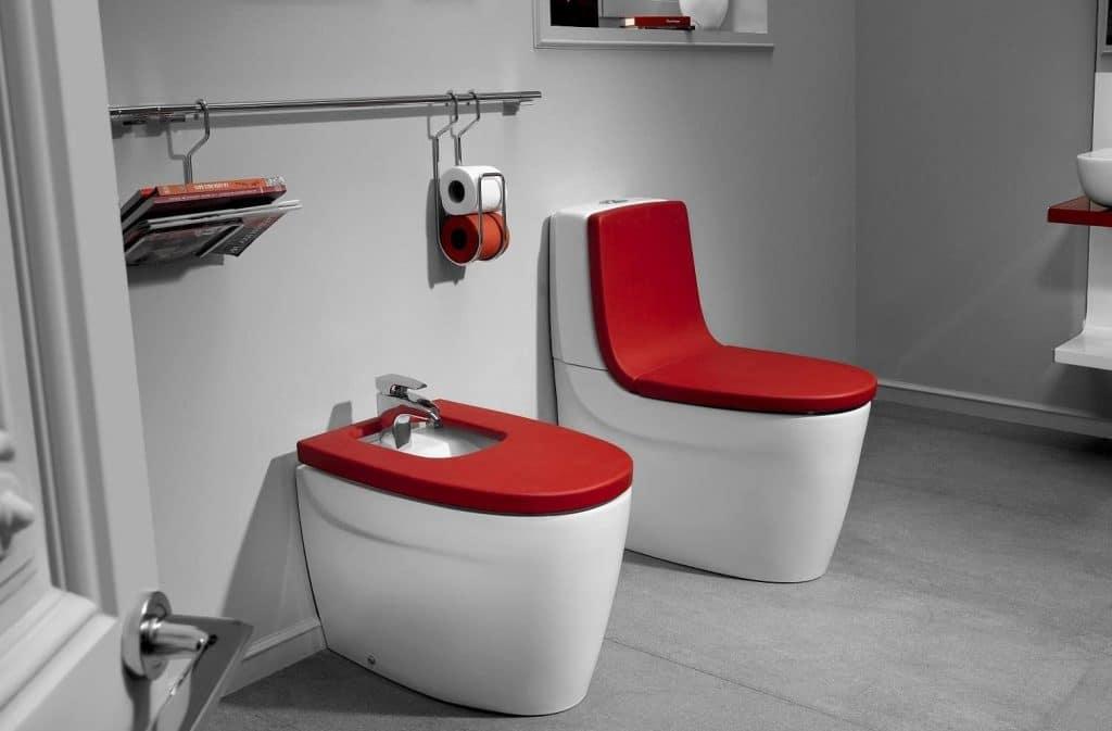 Сиденье для унитаза в ванную комнату