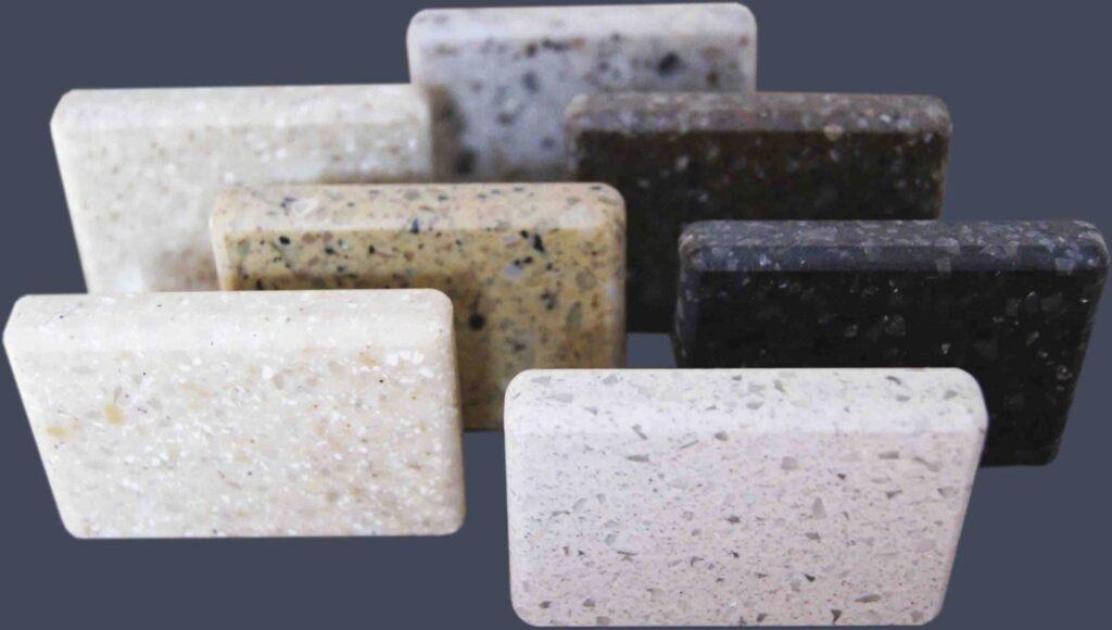 Как выбрать цвет столешницы из искусственного камня