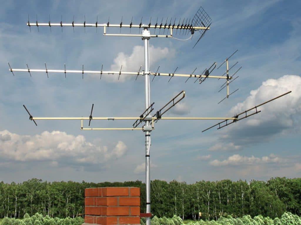 антенна с усилителем