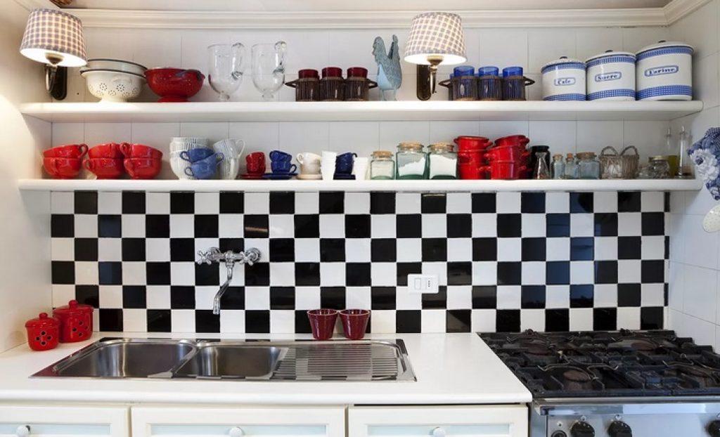 Укладка плитки шахматы