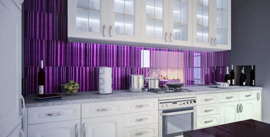 фиолетовый фартук 2