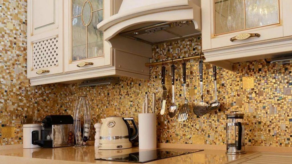 мозаика для фартука на кухне