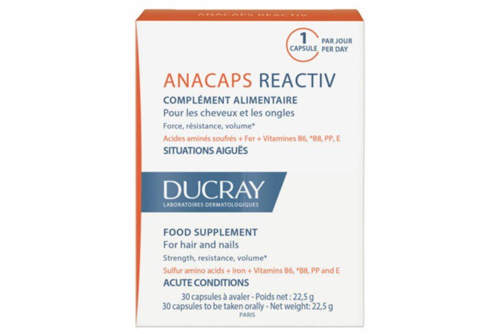 Ducray Anacaps. Лучшие витамины для волос и ногтей и кожи