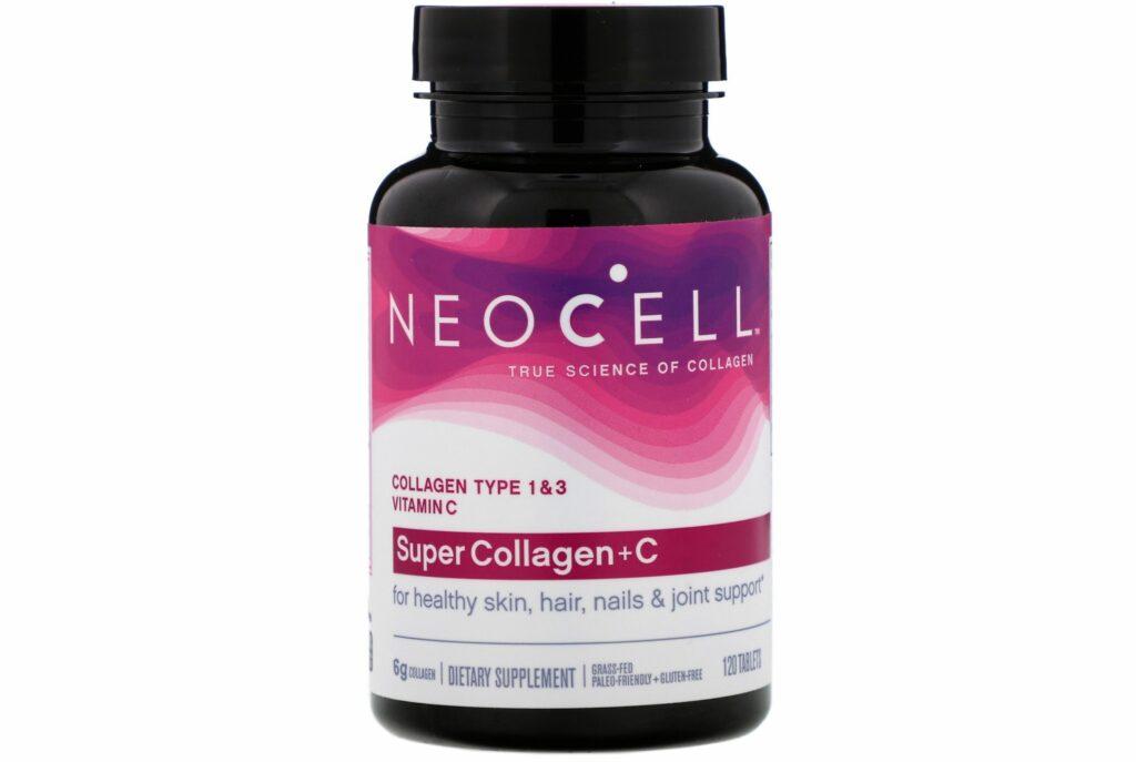 Neocell, Супер коллаген + C. Лучшие витамины для волос и ногтей и кожи