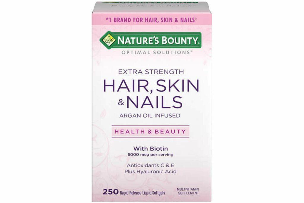 Nature's Bounty Extra Strenght Hair, Skin & Nails. Лучшие витамины для волос и ногтей и кожи