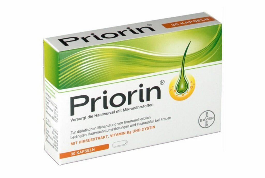 Bayer Priorin. Лучшие витамины для волос и ногтей и кожи