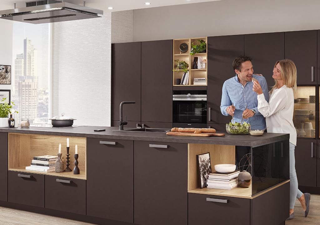 Выбор шкафов для кухонного гарнитура