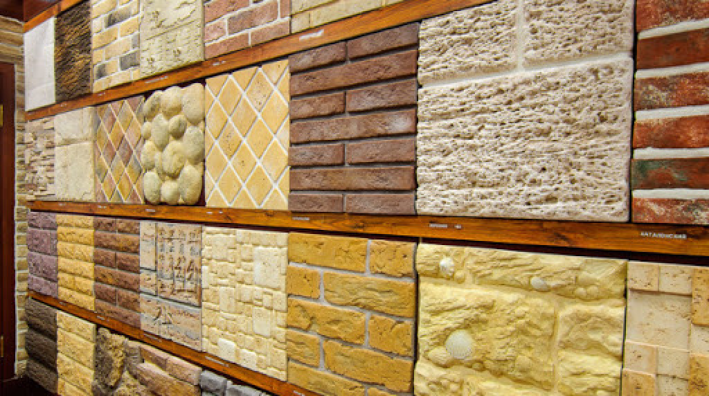 Фасадная плитка виды