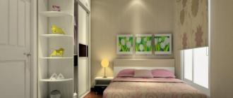 Правильная расстановка мебели в маленькой спальне