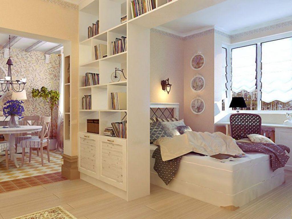 Разделение комнаты на две зоны
